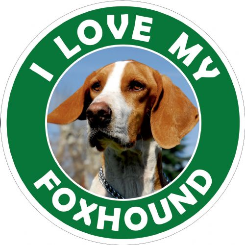 Foxhound sticker